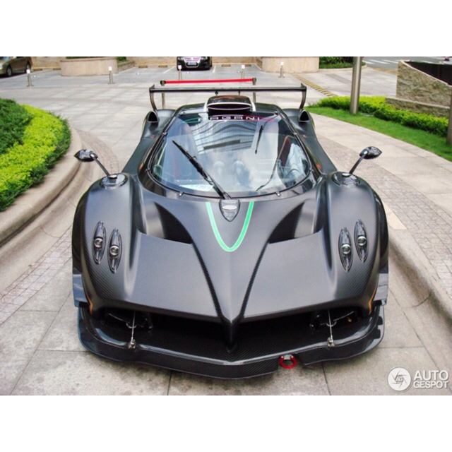 Pagani Zonda R Spied On The Streets Of Shenzhen   There Arenu0027t Too Many  Countries That Allow A Car Thatu0027s Not Been Road Homologated On The Road.