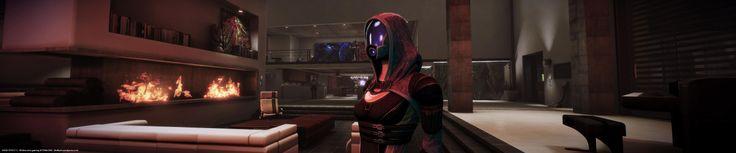 Mass Effect 3 Tali - FlyCam mode, User Interface completely hidden - Widescreen gaming @ 5760x1200 - dvdbash.wordpress.com