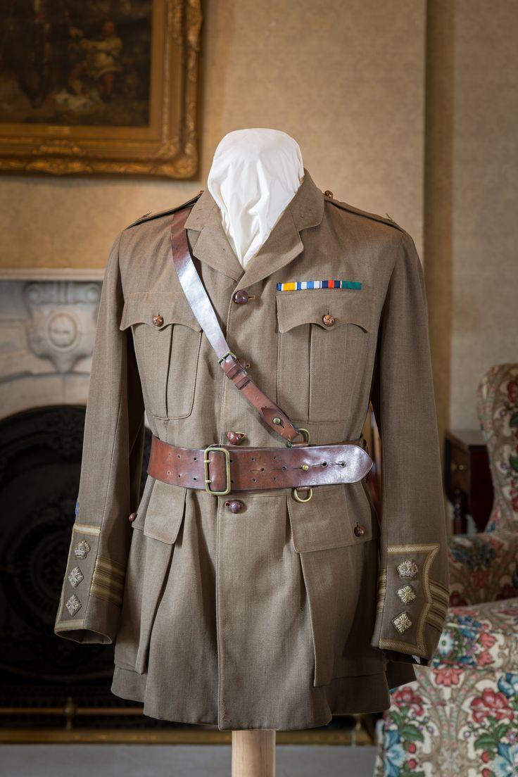 Lt Col Andrew Thorburn Thompson's military jacket