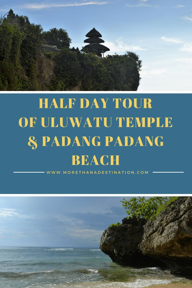 Our Trip to Bali: Afternoon at Uluwatu Temple & Padang Padang Beach