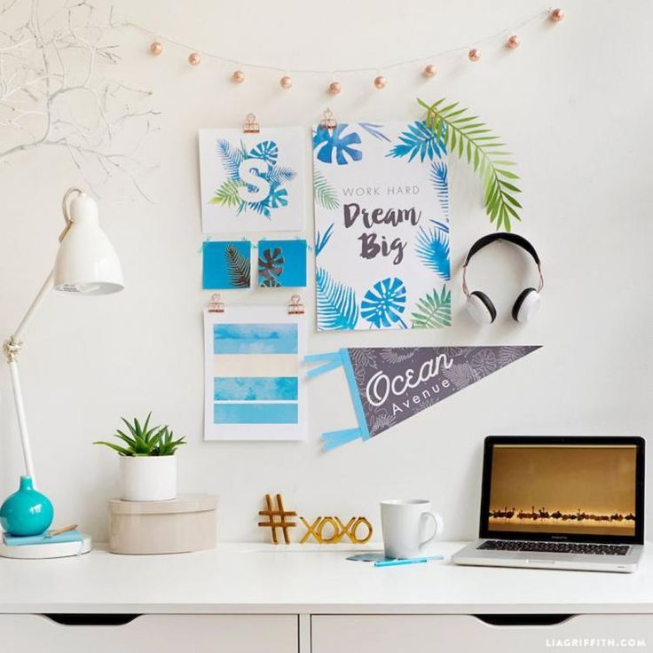 60 Stunning and Cute Dorm Room Decorating Ideas College