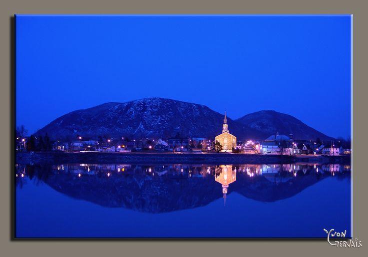 mont st-hilaire nuit - Saint-Hilaire, Quebec