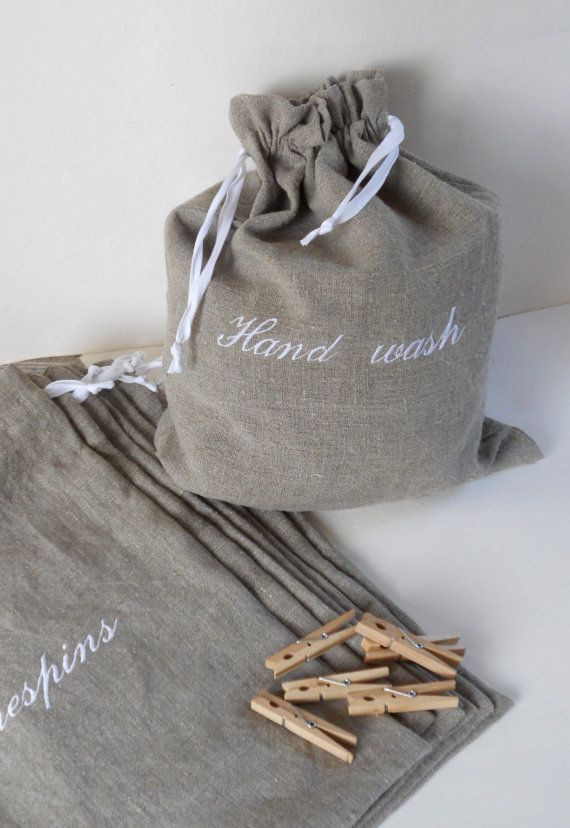 Great bridesmaid gift! Haven't you always hated that your dirty clothes touch the clean ones?