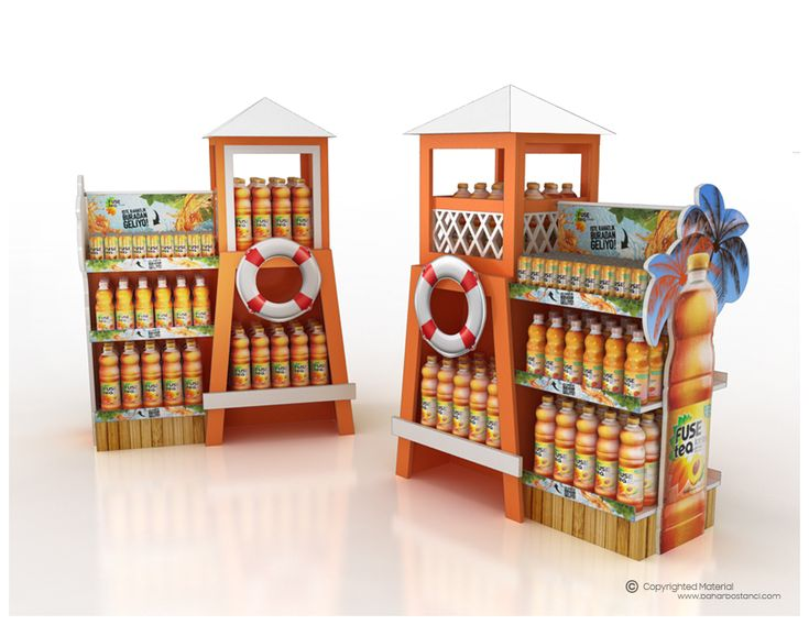 """Check out this @Behance project: """"FuseTea Summer Display Unit"""" https://www.behance.net/gallery/47501465/FuseTea-Summer-Display-Unit"""