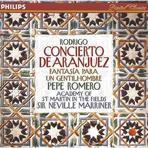 Pepe Romero & Academy of St. Martin in the Fields & Sir Neville Marriner - Rodrigo: Concierto de Aranjuez; Fantasía para un gentilhombre etc.
