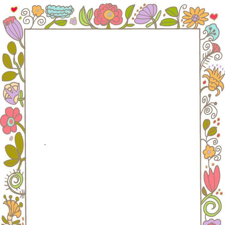 Borders Frames Vintage Style Decorative Cute Invite ...  Paper