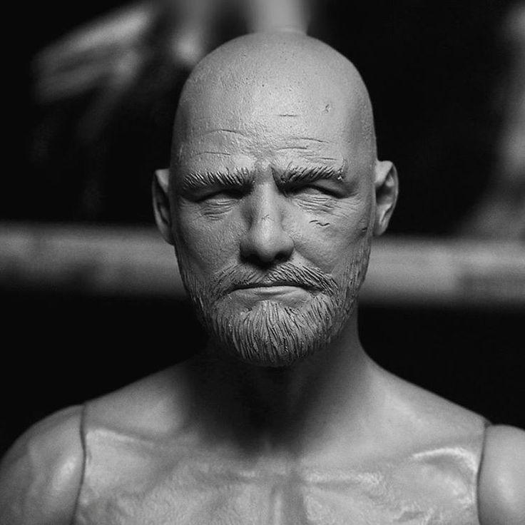 Old work. 1/6 scale Max Payne / Angry Gringo. Sculpted by me.  #cheungkinmen #sculpt #onesixthscale #arttoy #art #figure #collectible #handmade #toymaking #portraitsculpt #artdoll #artnerd #artcollective #sculpting #custom #customfigure #traditionalart #epoxyclay #sculpey #polymerclay #maxpayne #angrygringo #videogame #costarica #puravida #cartago #madeincostarica