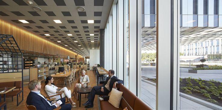 Fornebuporten / Dark Arkitekter + Zinc interior architects  © Hufton+Crow