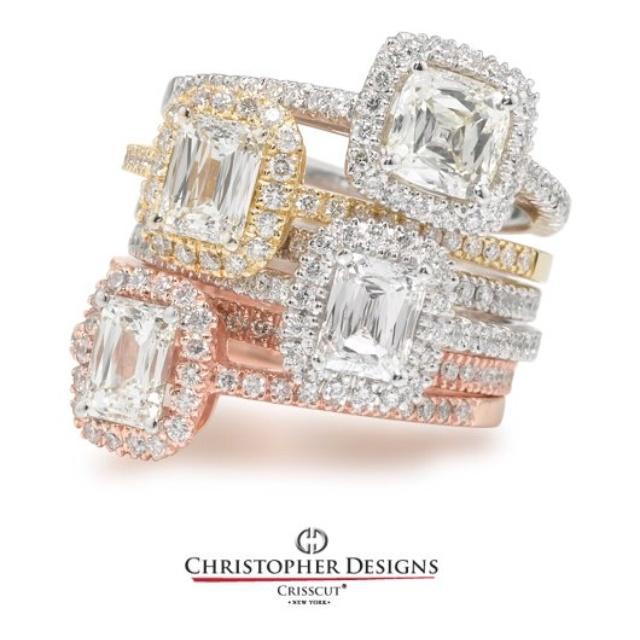 Christopher Designs crisscut halo