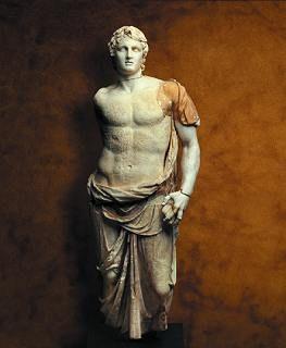 Escultura del gran emperador y guerrero Alejandro Magno autor: Desconocido Corriente: Clásica Materiales: Marmol  Epoca: Aproximadamente II Siglo a.C. Pais: Grecia