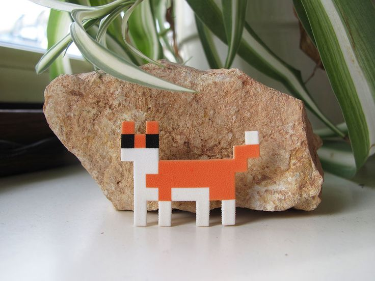 A Pixelpet in the wild. Check http://www.vectorificdesign.com/pixelpet/ for more information