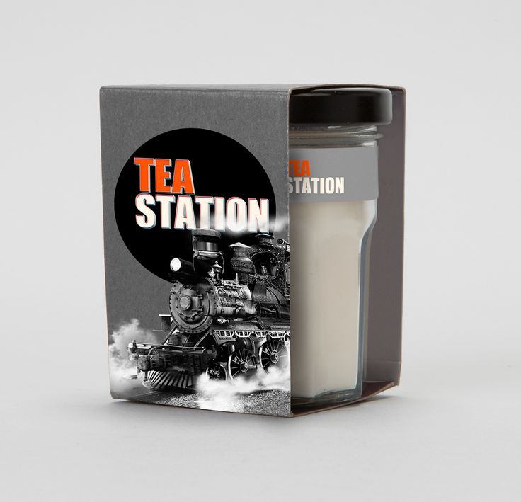 "Logo and illustration for web site ""Tea Station"" on Behance"