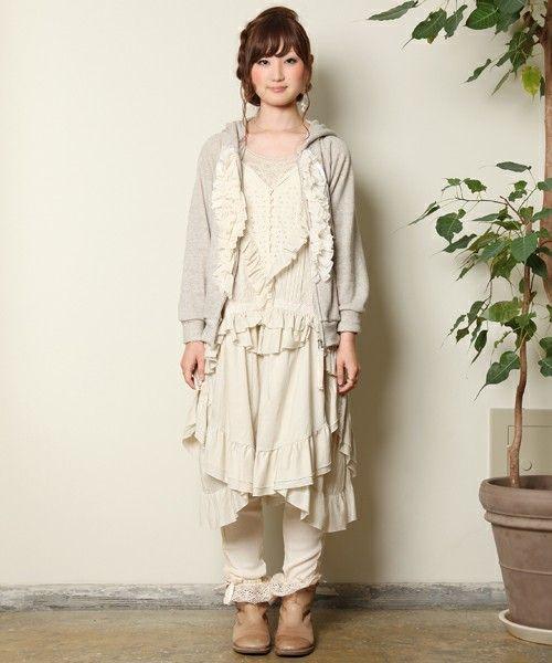 森ガール: In Fashion, Mori Style, Clothing Shabby Diy Fun, Kawaii Lolita, Mori Gyaru, Kei Dolly Kei, Gyaru Kawaii Mori, Lolita Mori, Mori Kei Dolly