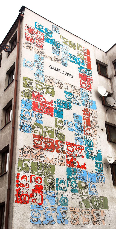 #mayamural #mural #streetart #toborowicz #cracow #poland #graffiti #krakow project by Aleksandra Toborowicz