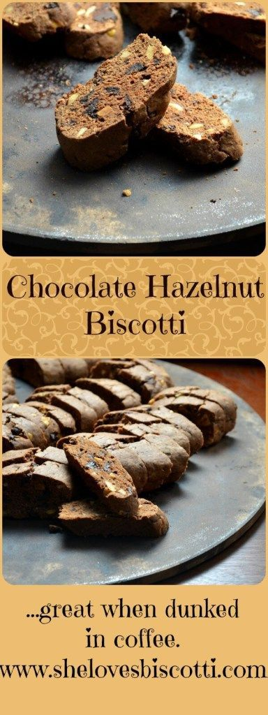 After all these years, this is still my favorite recipe for chocolate hazelnut biscotti.
