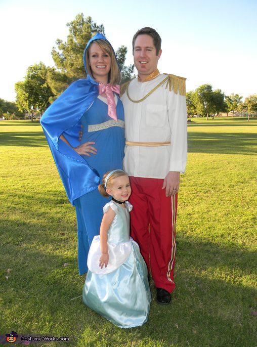 Cinderella's Royal Family Costume - Halloween Costume Contest