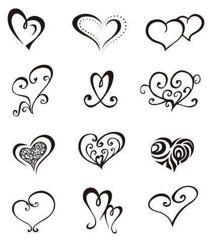 Préférence Oltre 25 fantastiche idee su Tatuaggi con cuori su Pinterest  EL17