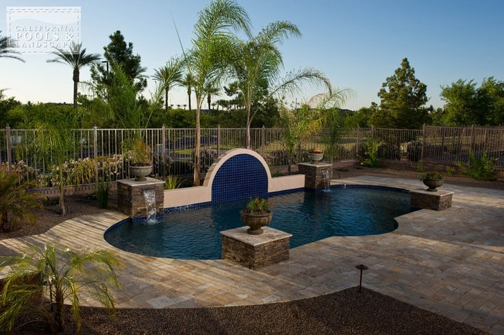 Swimming Pool By Cpl Builders Phoenix Arizona Landscaping Tuscan 100303 45 Small Pool Ideas