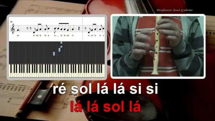 Loucos de Lisboa - Karaoke e notas para flauta, piano e guitarra. Cifra, acordes e posição dos dedos.