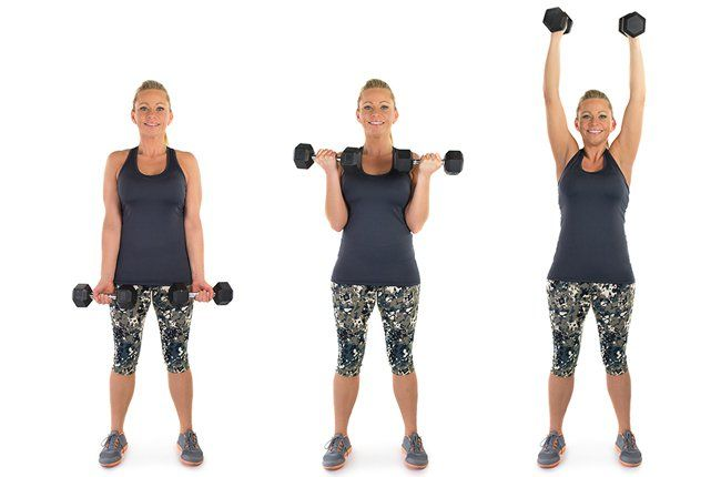 Skinny Mom:  Best exercises for toned arms