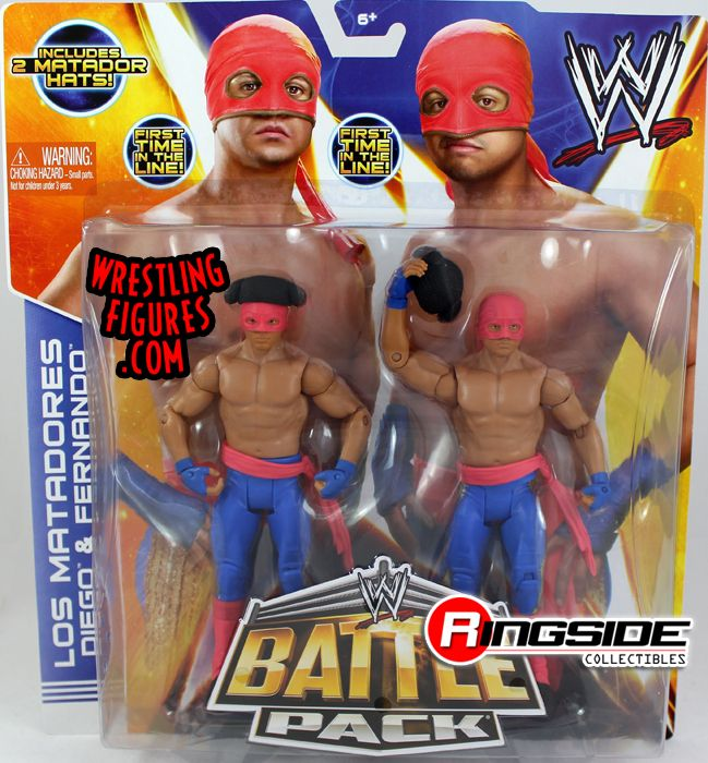 Los Matadores - WWE Battle Packs 29