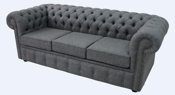 Wool Sofa Bed Settee Chesterfield Arnold 3 Seater Sofa Designersofas4u With Images Bed Settee Seater Sofa Wool Sofa