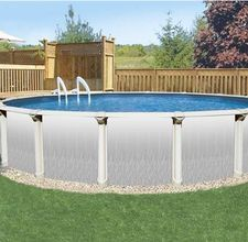 How to prepare the ground for an above ground pool