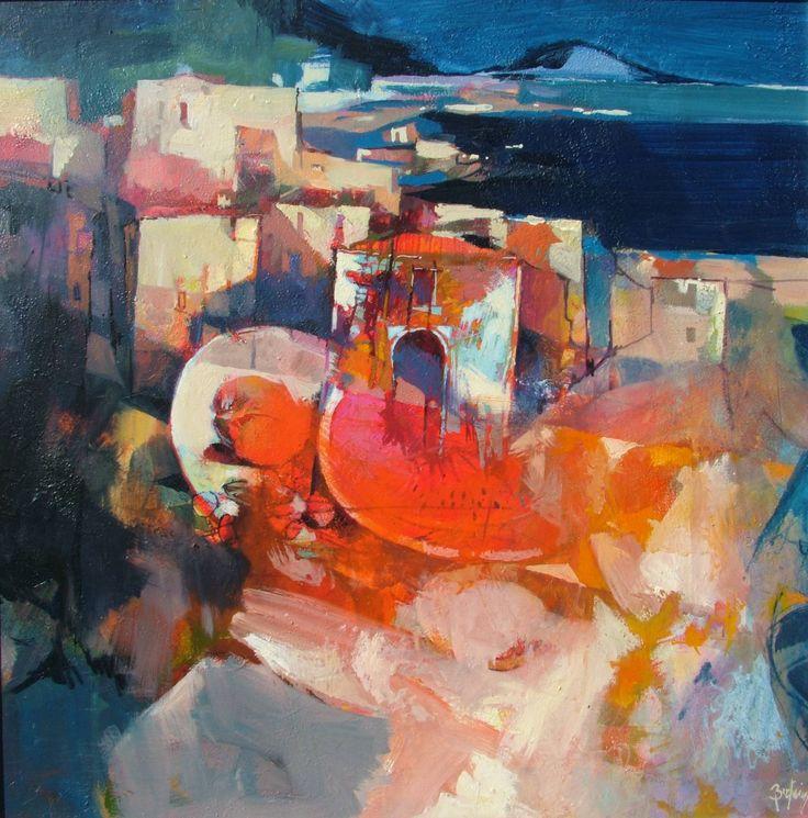 "Saatchi Art Artist: Alex Bertaina; Acrylic 2013 Painting ""La bella estate"""