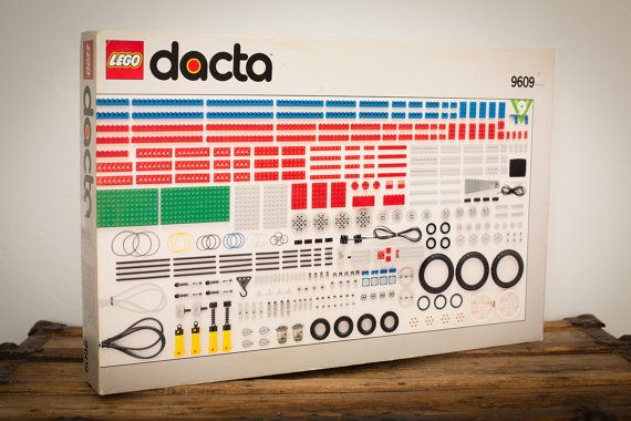 Lego Dacta Set 9609, Technic Machine Toy, Partial + Extra, Vintage 90s