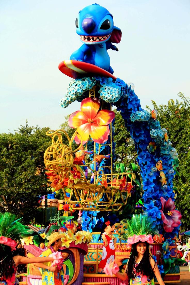 Stitch Disneyland Parade Hongkong