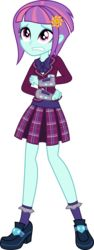 Size: 1880x5000 | Tagged: absurd res, artist:diegator007, clothes, crystal prep academy, crystal prep academy uniform, cute, equestria girls, friendship games, high heels, pleated skirt, safe, school uniform, shadowbolts, shoes, simple background, skirt, socks, solo, sunny flare, transparent background, vector