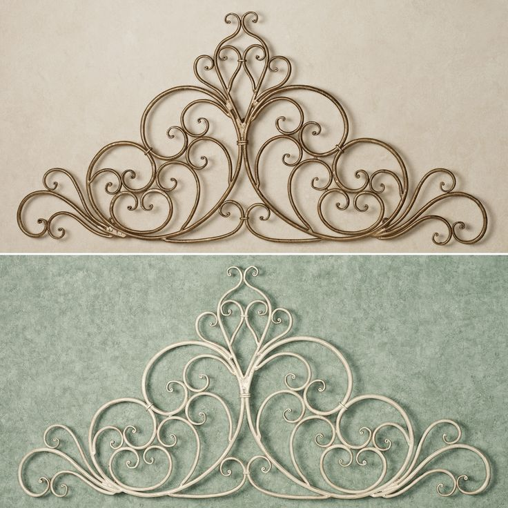 Scroll Design Wall Decor : Ideas about wrought iron wall decor on