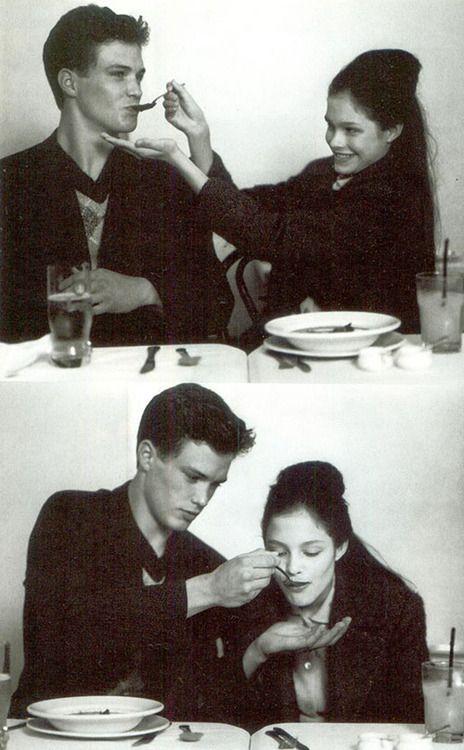 """The Girl Who Wouldn't Let Her Hair Down"", Vogue Italia, September 1995 Photographer : Bruce Weber Model : Lonneke Engel"