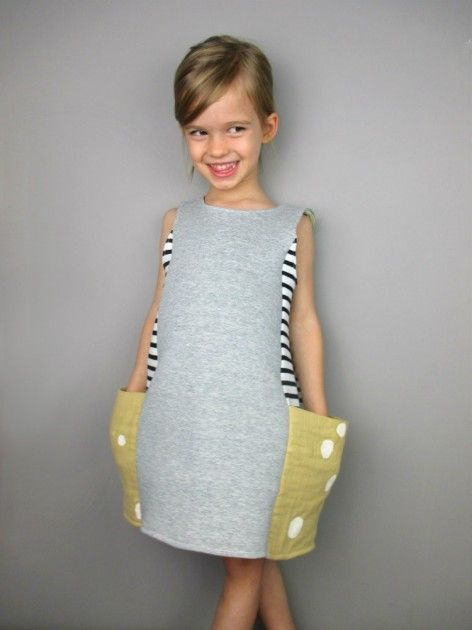 reversible Ponte knit dress
