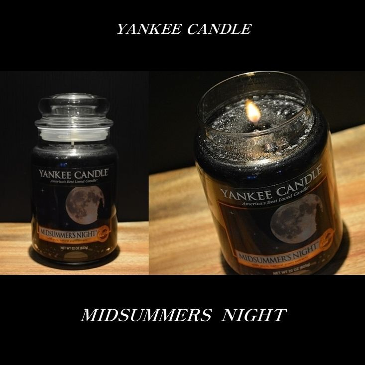 Yankee Candle 22oz/623g Large Jar Candle Collection - MIDSUMMER'S NIGHT NEW…