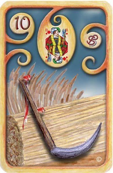 Baralho-Cigano-Carta-10-A-Foice  Pevisões para 2015, ver artigo no nosso blog em www.baumistico.com