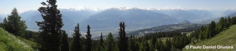 Crans-Montana & the valley