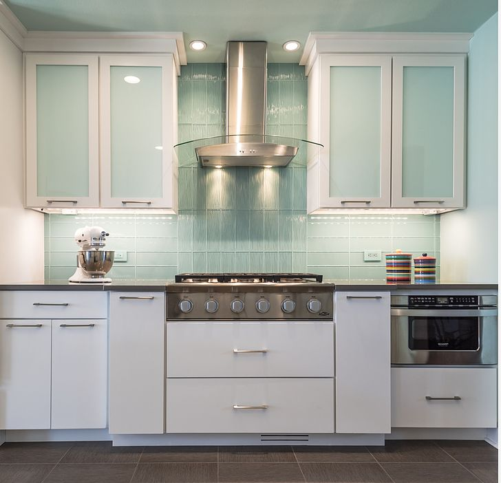 Glazzio Kitchen Backsplash