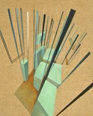 Utopia Regenerates 30x24cm, oil on canvas, 2014