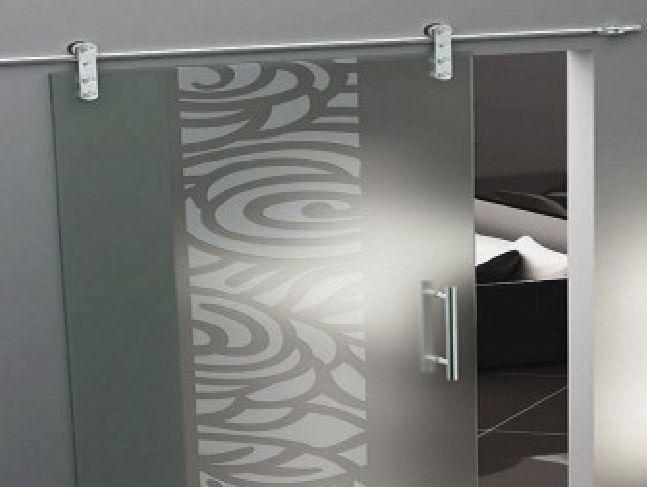 Nice Stained Glass Sliding Doors Modern Design · Room DividersSliding ... Design Ideas