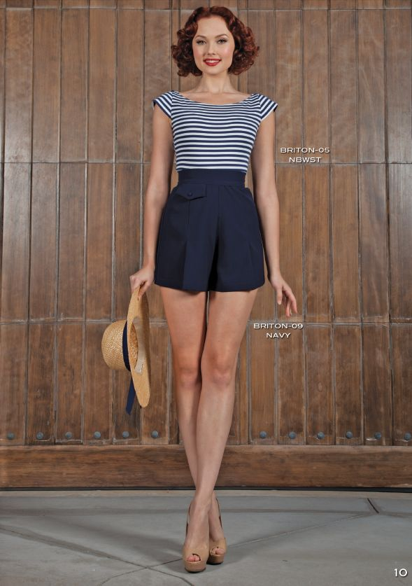 PRE ORDER New Stop Staring BRITION NAVY PLAYSUIT -NAUTL-09 NAVY