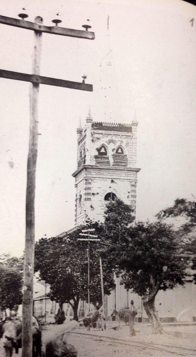 IGLESIA SAN JOSÉ en julio de 1900