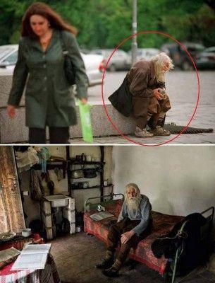 Vive in Bulgaria, in un villaggio distante pochi chilometri da Sofia. Riesce a tirare avanti con una piccola pensione mensile equivalente a 80 Euro. Non ha grosse spese: i vestiti se li cuce da sé e non utilizza neppure i mezzi di trasporto.