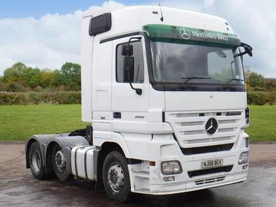 2008 MERCEDES-BENZ 2544 ACTROS 6x2 Tractor Unit Diesel in Market Weighton | Auto Trader Trucks