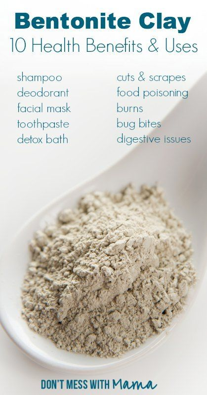 Calcium bentonite benefits