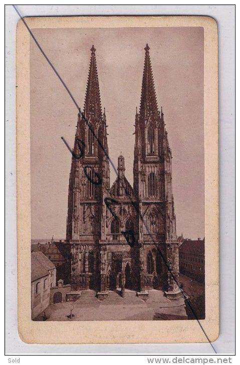 CDV-  Dom Regensburg - A. Coppenrath 1860-70