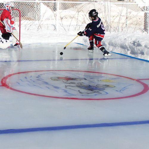 Best Backyard Ice Rink Ideas On Pinterest Ice Hockey Rink - Ice rink in backyard