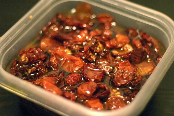 Homemade Sun-dried Tomatoes Recipe
