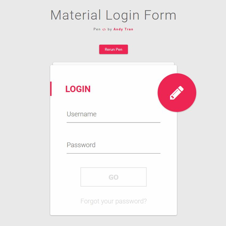 Material Login Form Coding Animation Buttons Code CSS CSS3 Flat Form HTML HTML5 Javascript jQuery Login Material Design Register Resource Responsive SCSS Snippets Transition Web Design Web Development