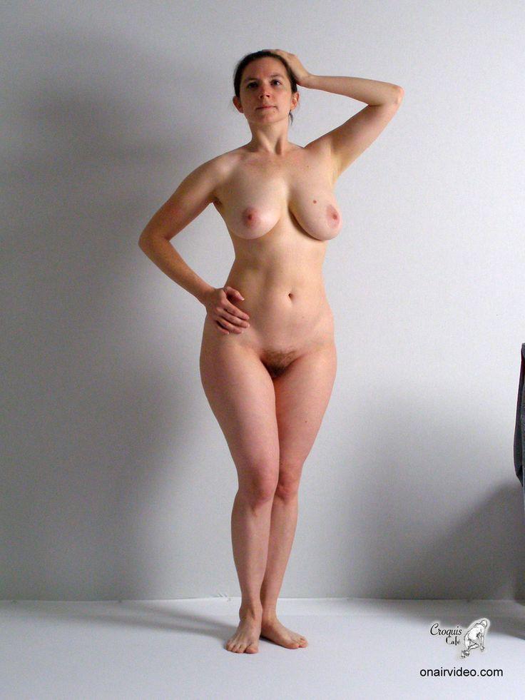 nude women anatomy models